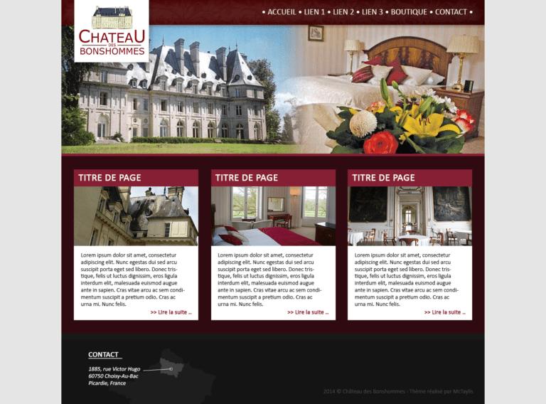 Château des Bonshommes