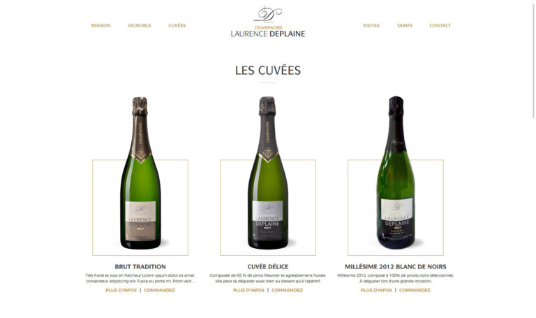 Champagne Laurence Deplaine