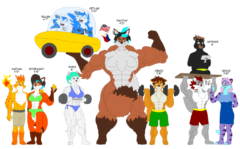 Skyblue2005 characters